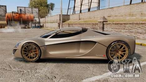 GTA V Grotti Turismo R v2.0 [EPM] para GTA 4 esquerda vista