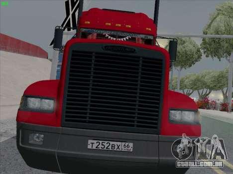 Freightliner FLD 120 para GTA San Andreas vista superior