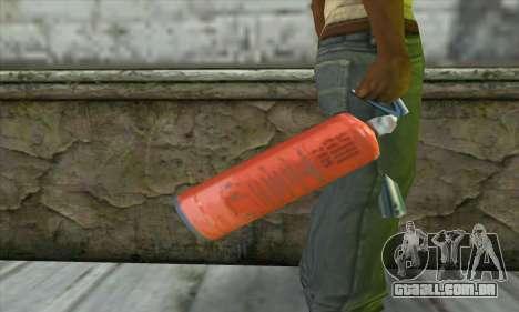 Extintor de incêndio para GTA San Andreas terceira tela