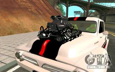 Ford FR-100 para GTA San Andreas vista direita