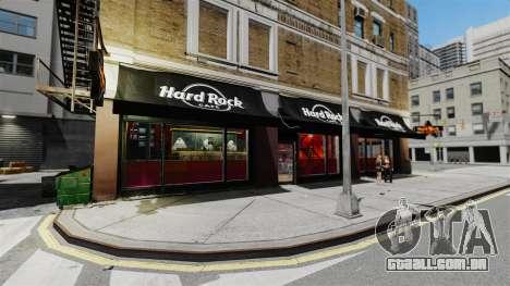 Um novo café-Hard Rock- para GTA 4