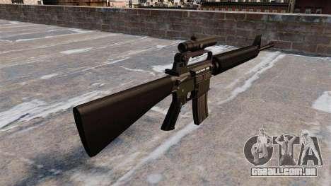 O fuzil M16A2 para GTA 4 segundo screenshot