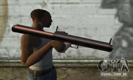 M72 para GTA San Andreas terceira tela