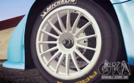 McLaren F1 GTR Longtail 22R para GTA San Andreas traseira esquerda vista