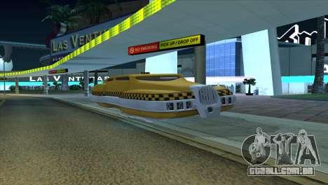 Taxi 5 Element para GTA San Andreas esquerda vista