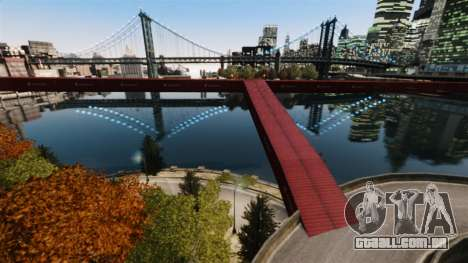 Nova ponte em East island city para GTA 4 segundo screenshot
