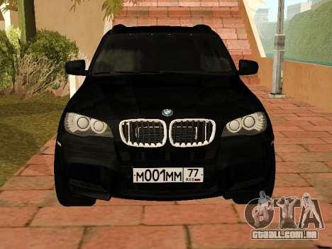 BMW X5 E70 2009 para GTA San Andreas esquerda vista