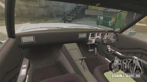 Holden Monaro GTS 1971 para GTA 4 vista lateral