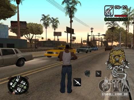 C-HUD by Margarin para GTA San Andreas