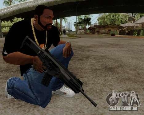 Beretta ARX-160 para GTA San Andreas terceira tela