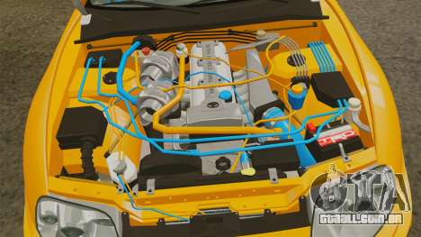 Toyota Supra RZ 1998 (Mark IV) Bomex kit para GTA 4 vista de volta