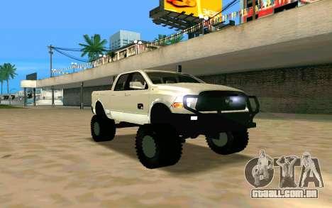 Dodge Ram 4x4 para GTA San Andreas
