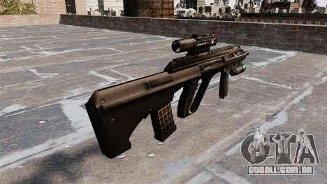 Rifle Steyr AUG A3 para GTA 4 segundo screenshot