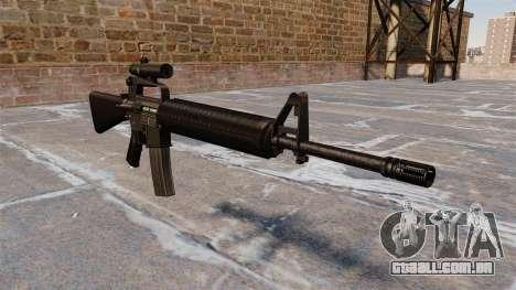 O fuzil M16A2 para GTA 4