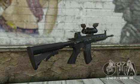 HK416 with ACOG para GTA San Andreas segunda tela