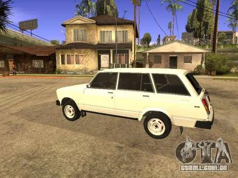 VAZ 2104 para GTA San Andreas esquerda vista