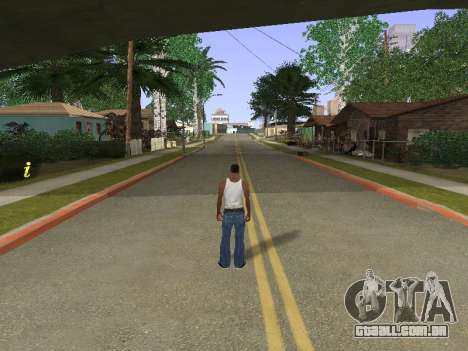 New Groove Street para GTA San Andreas por diante tela