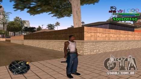 C-HUD Advance para GTA San Andreas