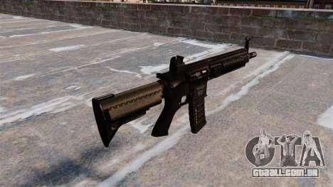 HK416 automático para GTA 4 segundo screenshot