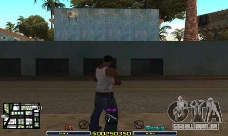 C-HUD Swat para GTA San Andreas segunda tela