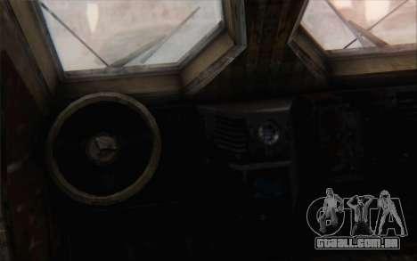 Oshkosh M-ATV para GTA San Andreas traseira esquerda vista