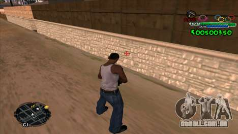 C-HUD Advance para GTA San Andreas segunda tela
