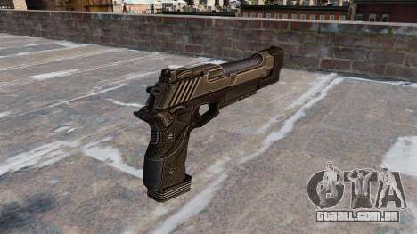 Pistola de águia do deserto Crysis 2 para GTA 4 segundo screenshot