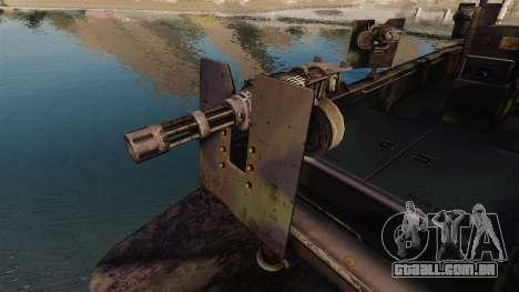 Navy SEALs SOC-R para GTA 4 vista interior