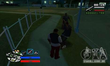 C-HUD by Fawkes para GTA San Andreas