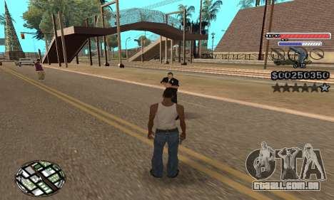 C-HUD v2 para GTA San Andreas terceira tela
