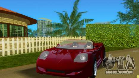 Toyota MR-S Veilside Spider para GTA Vice City deixou vista