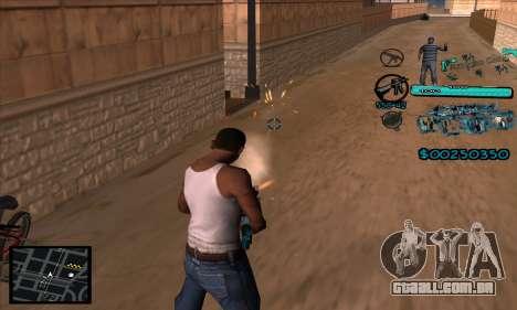 C-HUD Aztecas Gang para GTA San Andreas terceira tela