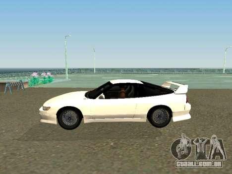 Nissan Sileighty para GTA San Andreas esquerda vista