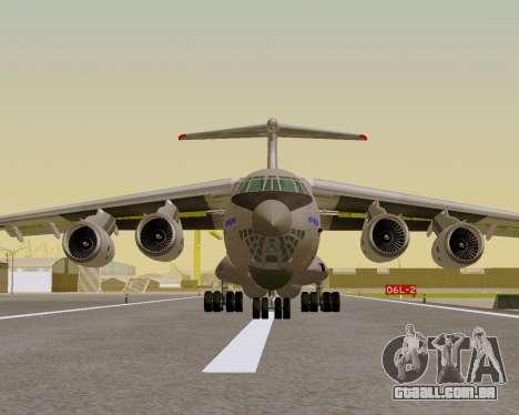 Il-76md-90 (IL-476) para GTA San Andreas vista direita