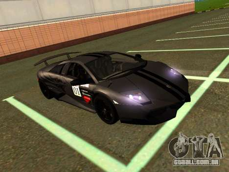 Lamborghini Murcielago LP670-4 SV Team Ravenwest para GTA San Andreas