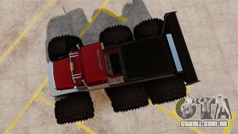 The Biggest Monster Truck para GTA 4 vista direita