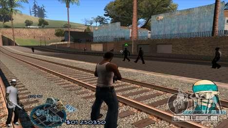 C-HUD Rifa by HARDy para GTA San Andreas segunda tela