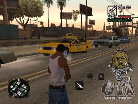 C-HUD by Margarin para GTA San Andreas segunda tela