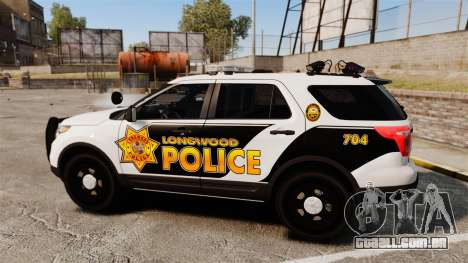 Ford Explorer 2013 LCPD [ELS] v1.5X para GTA 4 esquerda vista