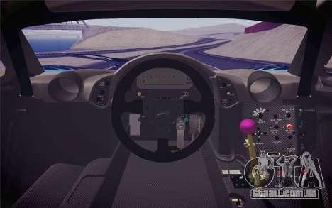 McLaren F1 GTR Longtail 22R para GTA San Andreas vista direita