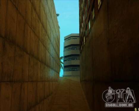ENB HD CUDA v.2.5 for SAMP para GTA San Andreas por diante tela