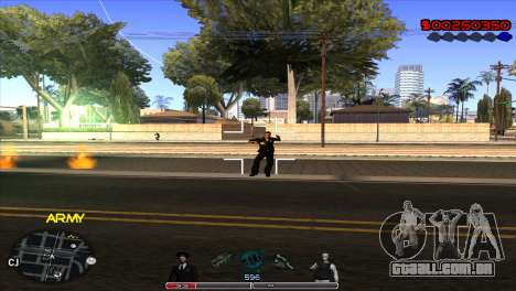 C-Hud Army by Kin para GTA San Andreas terceira tela