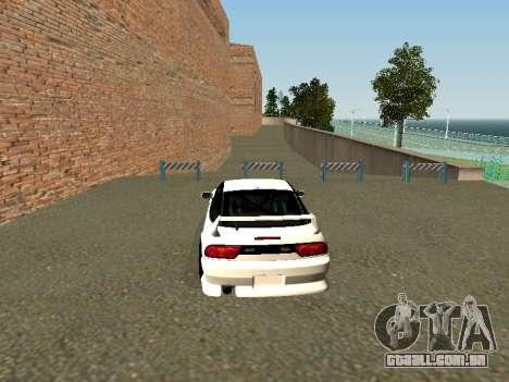 Nissan Sileighty para GTA San Andreas traseira esquerda vista