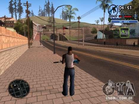 С-HUD Velho Sd para GTA San Andreas