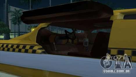 Taxi 5 Element para vista lateral GTA San Andreas