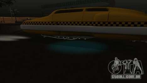 Taxi 5 Element para GTA San Andreas vista superior