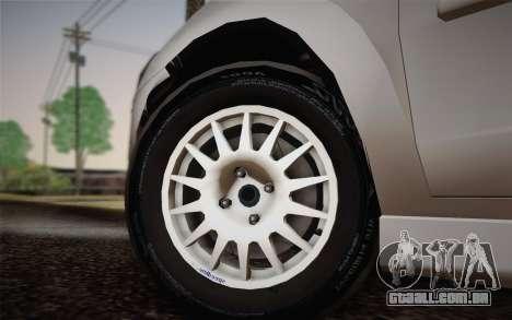 Chevrolet Corsa VHC para GTA San Andreas traseira esquerda vista