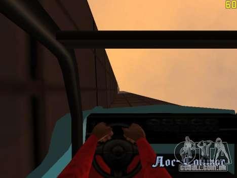 Equitação em paredes e tectos v 2.0. para GTA San Andreas oitavo tela