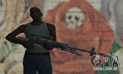 M21 de COD 4 Modern Warfare para GTA San Andreas terceira tela