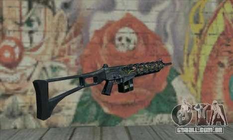 Canhão de Gauss de Stalker para GTA San Andreas segunda tela